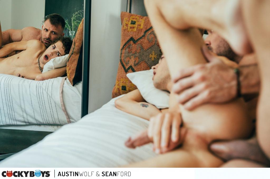 CockyBoys – Austin Wolf & Sean Ford