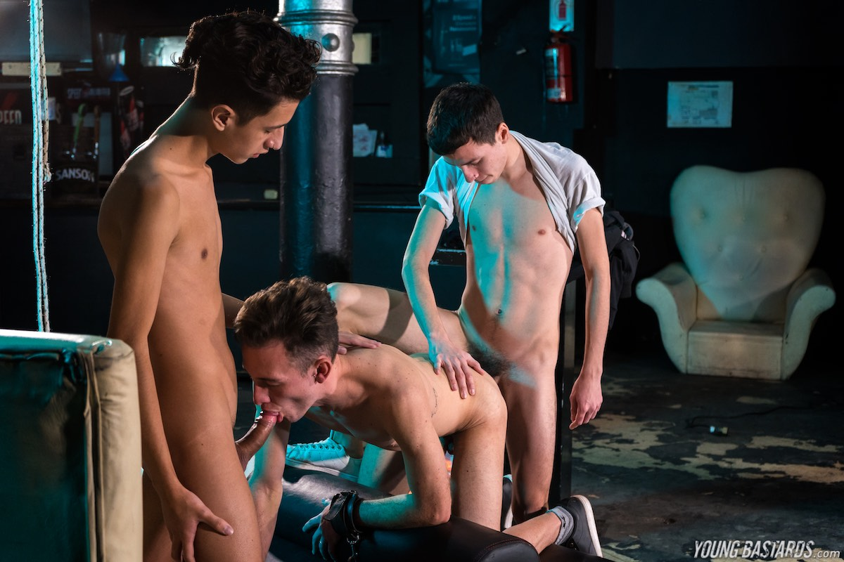 Young Bastards – Will Nouvak, Cesar Rose, Italo Van Newen