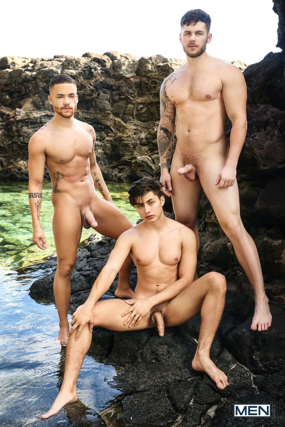 Men.com – Angel Rivera, Beaux Banks, Matthew Camp