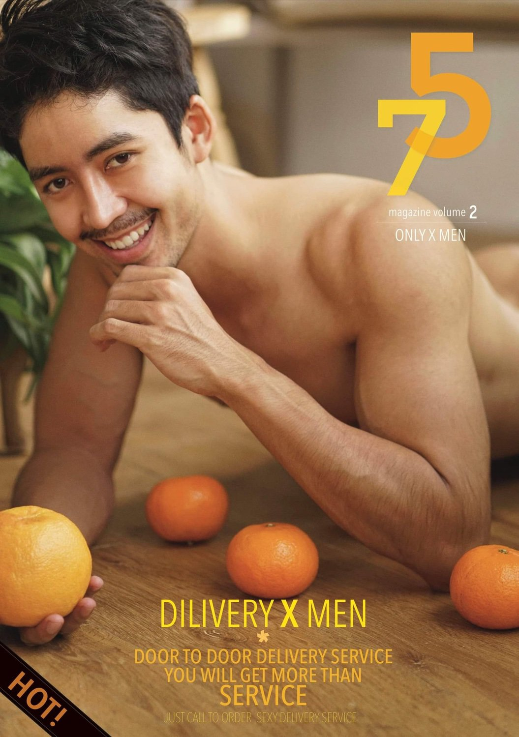 Cha Lham in 75 magazine #2