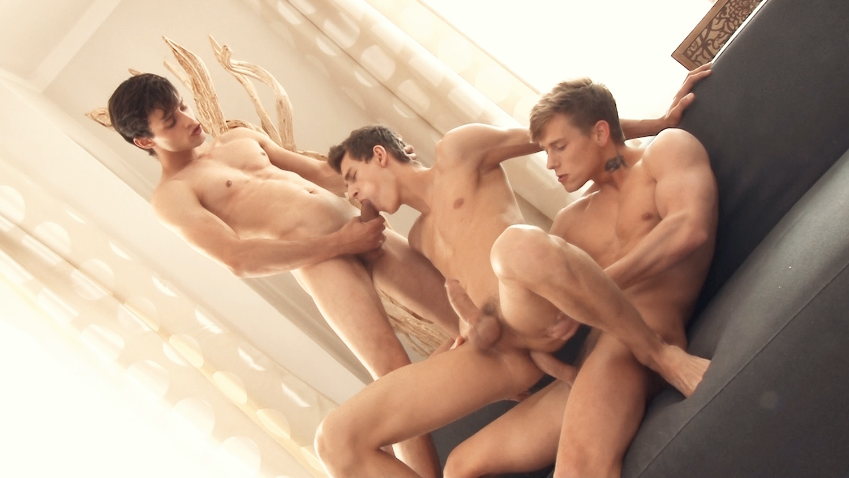 Freshmen – Andre Boleyn, Benoit Ulliel & Kevin Warhol