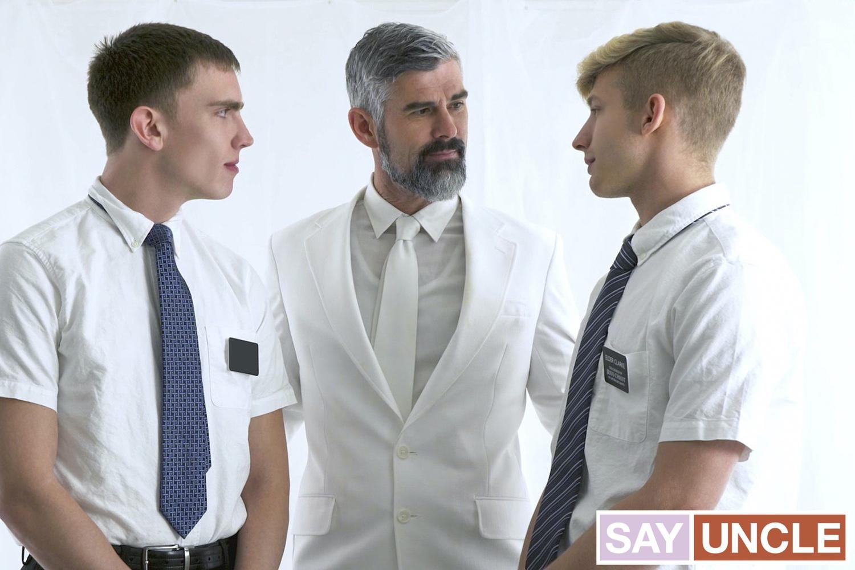 Missionary Boys – Mason Dean, Jace Madden, President Oaks