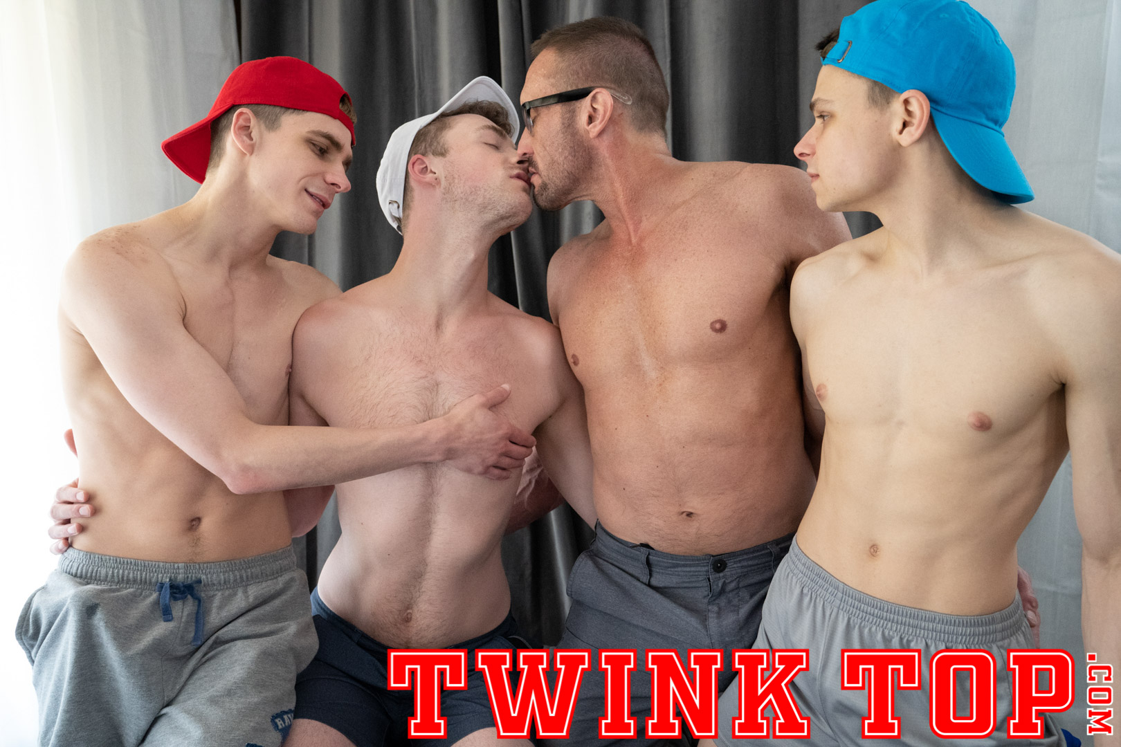 Twink Top – Austin Young, Cole Blue, Marcus Ryan, Myles Landon
