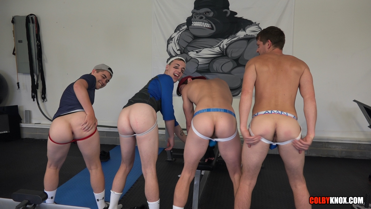 ColbyKnox – Troye Jacobs, Eli Lincoln, Colby Chambers, Mickey Knox