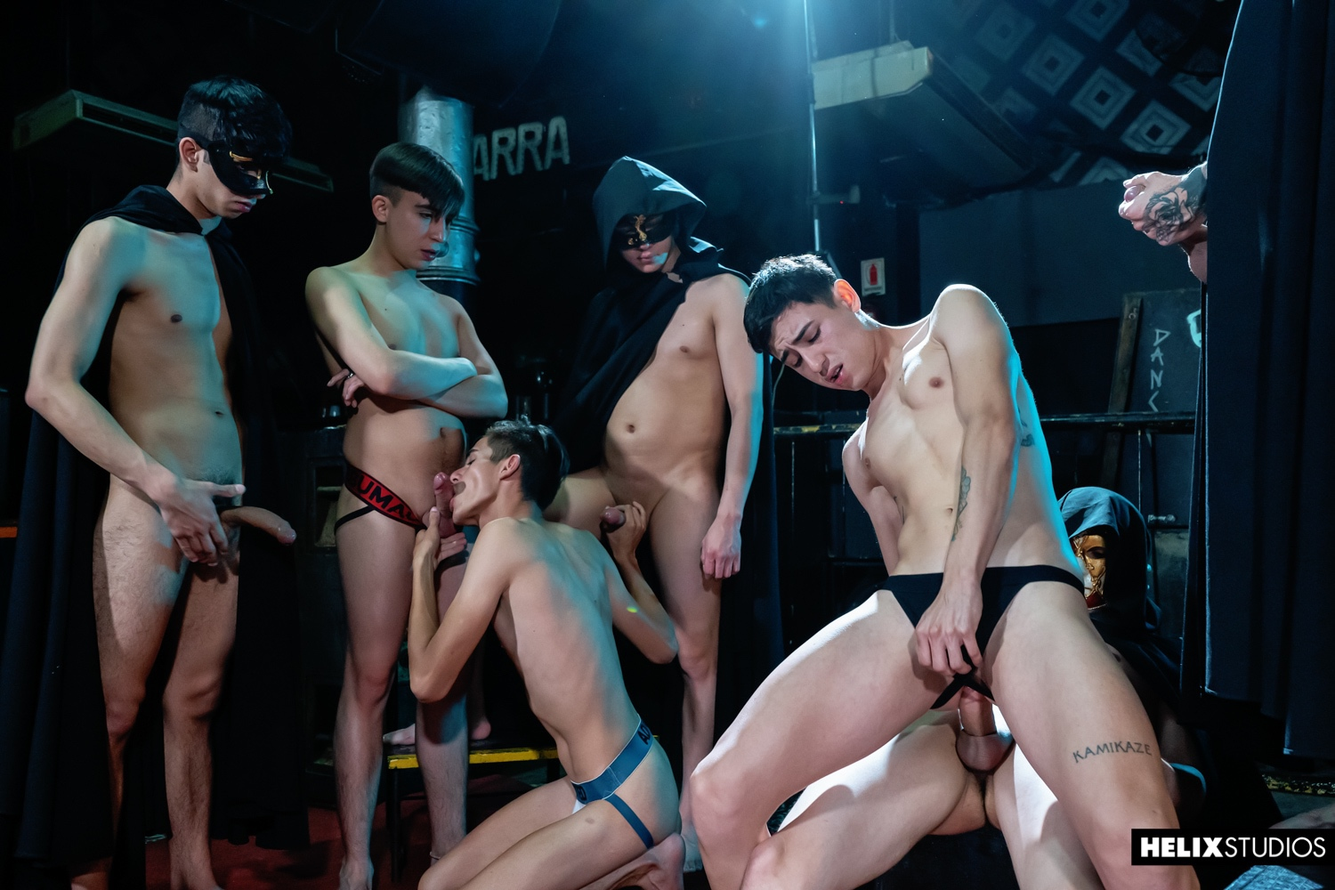 Helix – Dave Andrew, Sly Conan, Jack Moon, Liam Travis