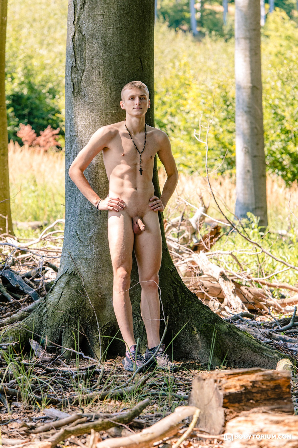 Outdoor male nude photo