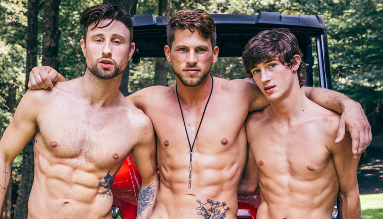CockyBoys – Dallas Preston, Drew Dixon, Roman Todd